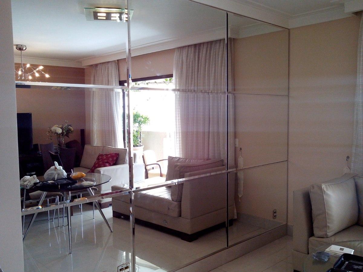 Espelho Bisot B2b Decora Es Cortinas E Persianas -> Sala De Jantar Com Espelho Na Parede